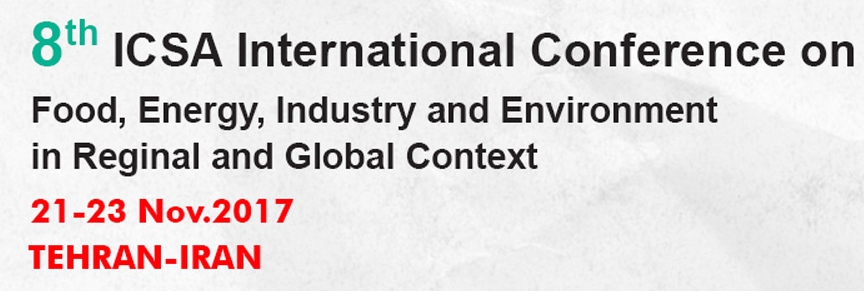 8th International Conference on Food, Energy, Industry and Environment in Reginal and Global Context